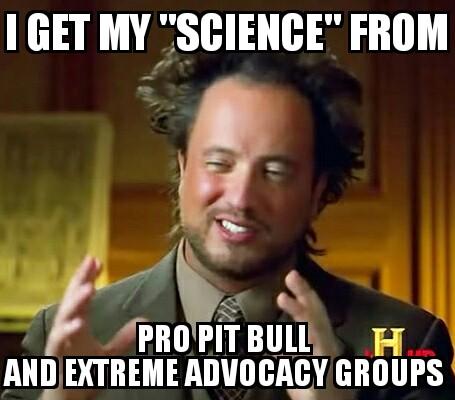 Ancient Aliens pro pit bull